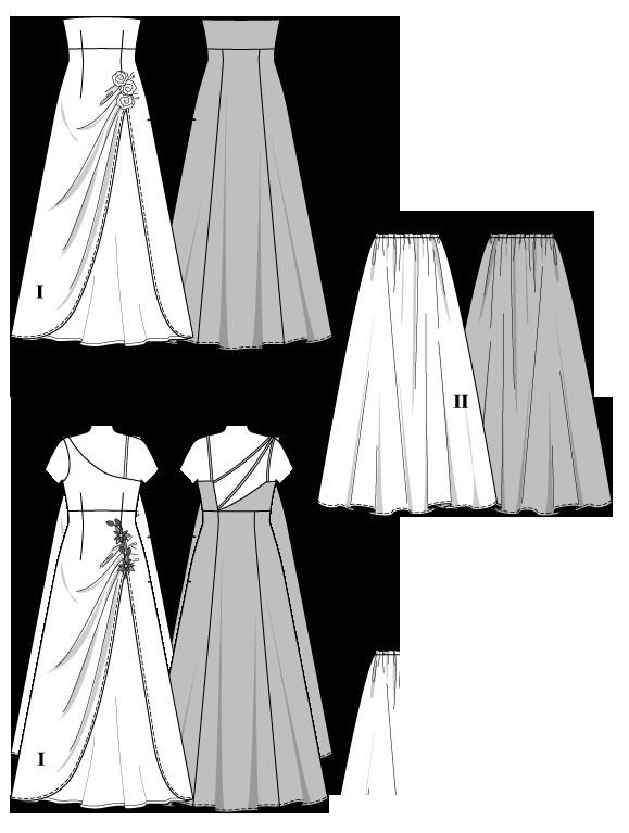 schnittmuster burda festliche mode mercerie online shop ihr kurzwaren gesch ft. Black Bedroom Furniture Sets. Home Design Ideas