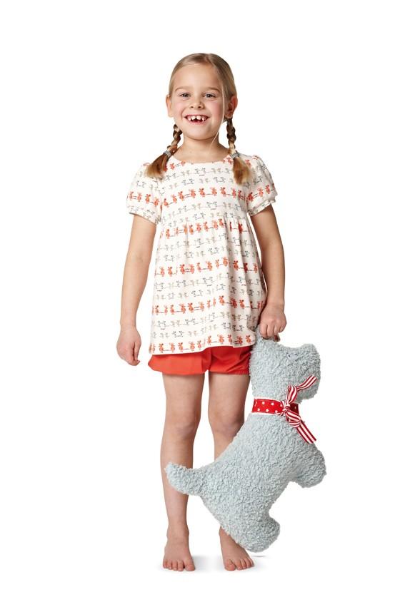 SCHNITTMUSTER: BURDA KIDS - HOMEWEAR & WÄSCHE - Mercerie Online Shop ...