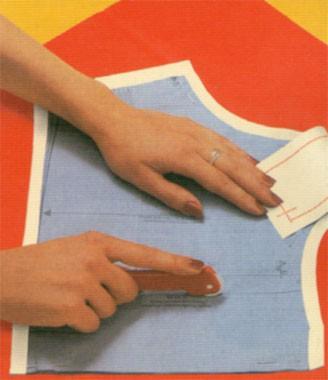 Carta copiativa per cartamodelli