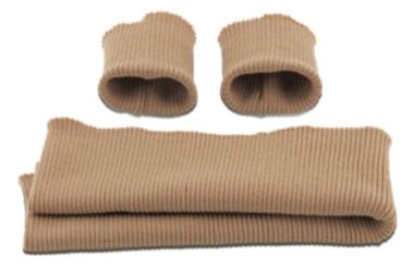 Marbet - Gestrickte Ärmelbündchen aus Wolle